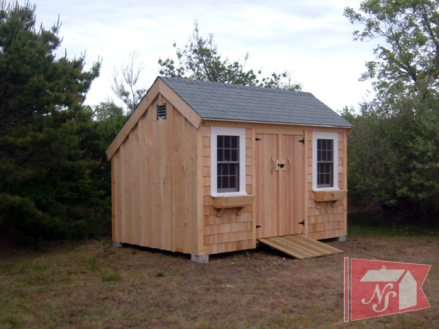 saltbox shed - Garden Sheds Massachusetts