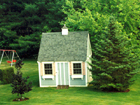 Custom-built wooden sheds, garden sheds, & storage sheds by Nantucket Sheds - Serving southeastern MA, NH, CT, RI, Martha's Vineyard, & Cape Cod